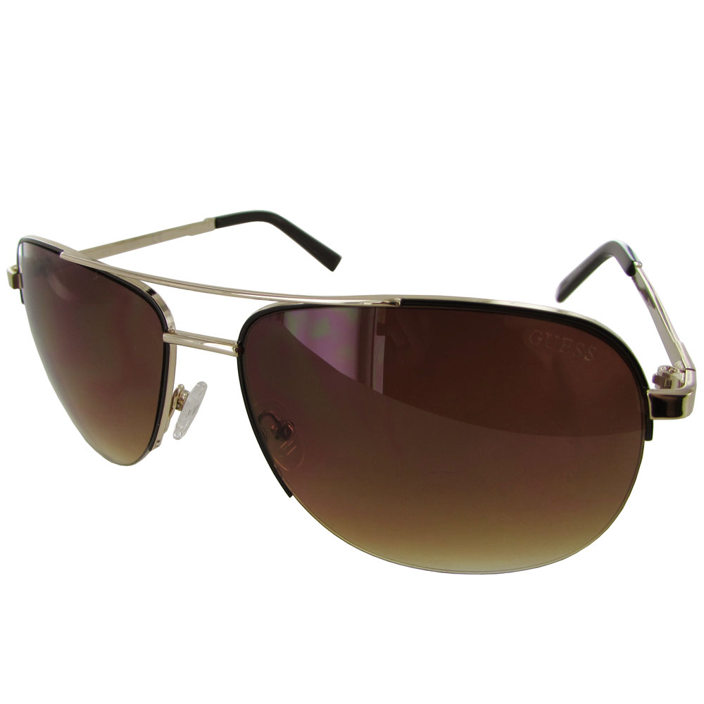 Wire Frame Rimless Sunglasses Center Mvimwa Solar System Diagram Guess Mens Gf0164 Semi Fashion Ebay Rh Com Thin