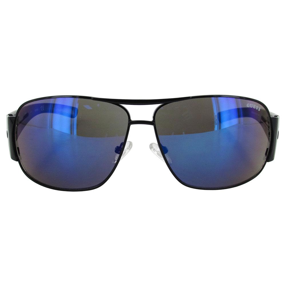Guess-Womens-GF0143-Wire-Rim-Wrap-Around-Fashion-Sunglasses thumbnail 4