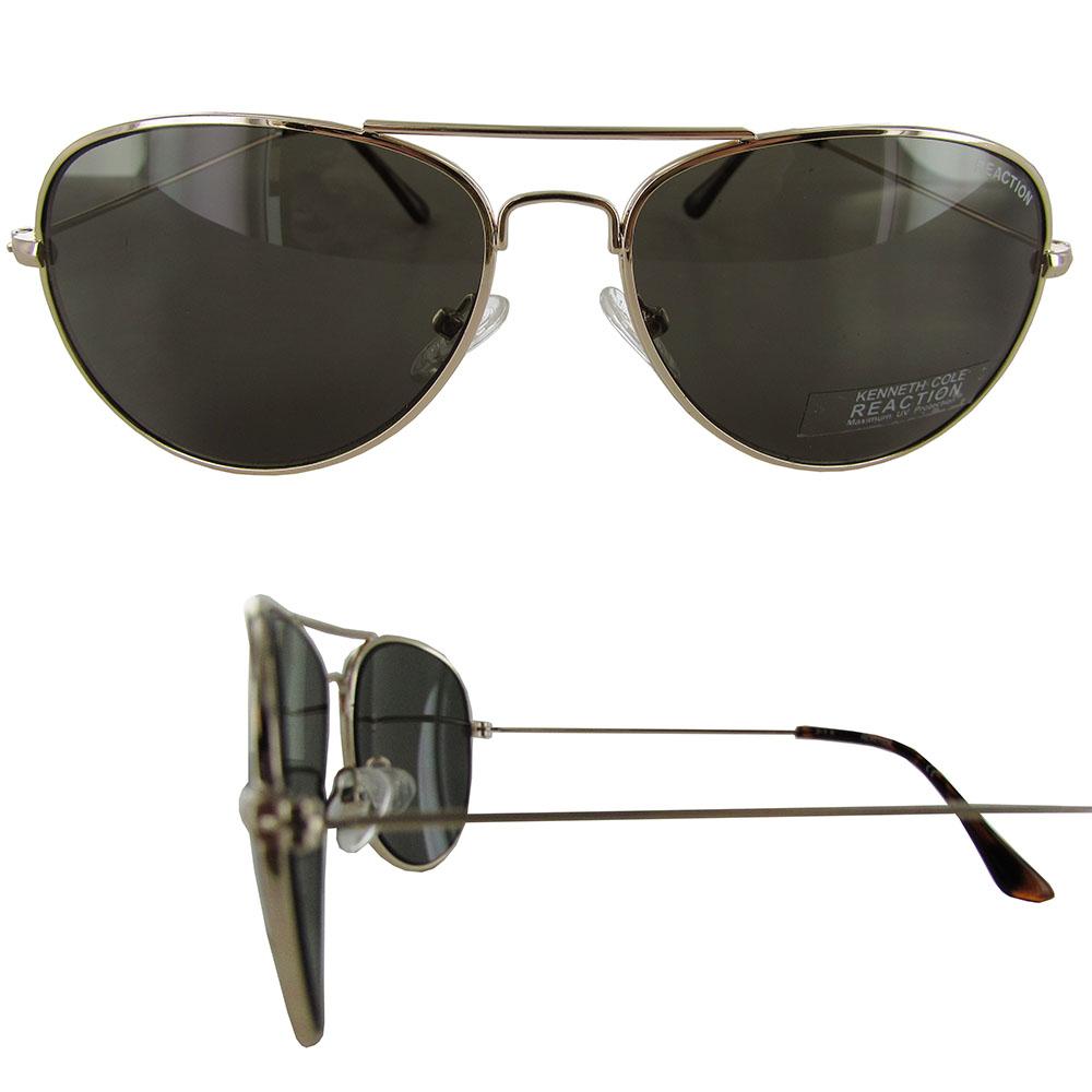 metal aviator sunglasses  Kenneth Cole Reaction Womens KC1248 Metal Aviator Sunglasses