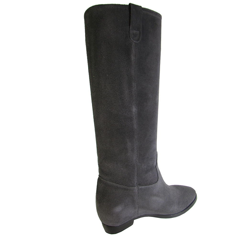 Kenneth Cole Damenschuhe Desiree Leder Boot Pull On Tall Fringe Boot Leder Schuhe 3bc33e