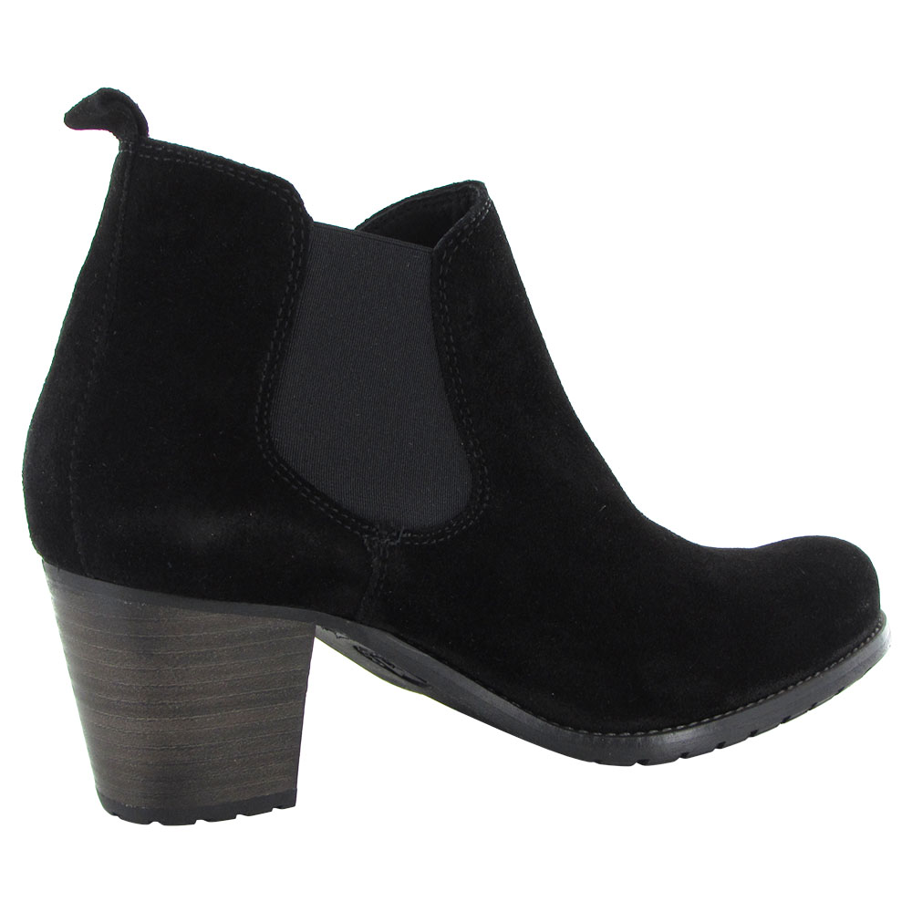 Mephisto Womens Delfina Slip On Heeled Ankle Boot Shoes