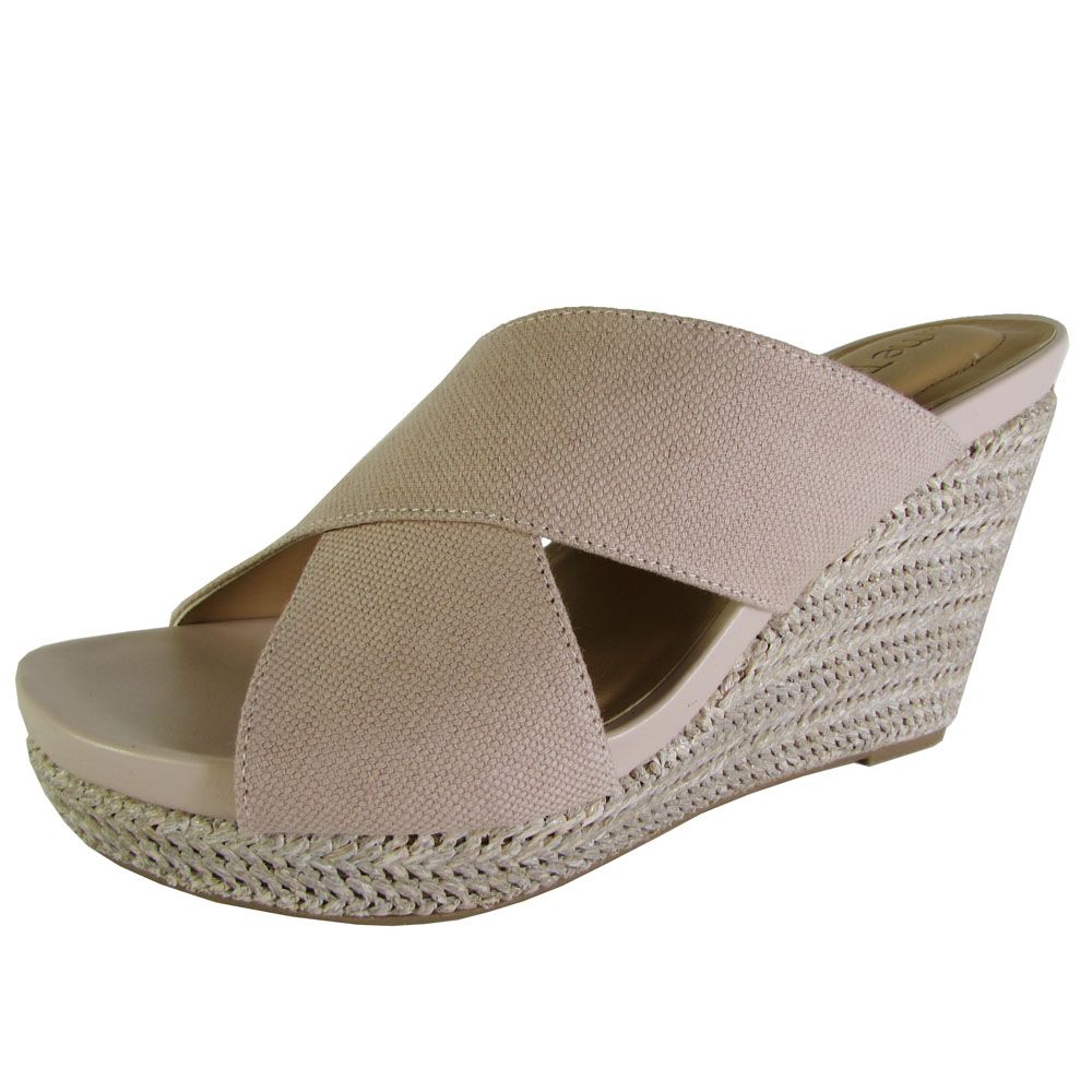 Me Too Womens Athena Platform Wedge Sandal Shoes | eBay