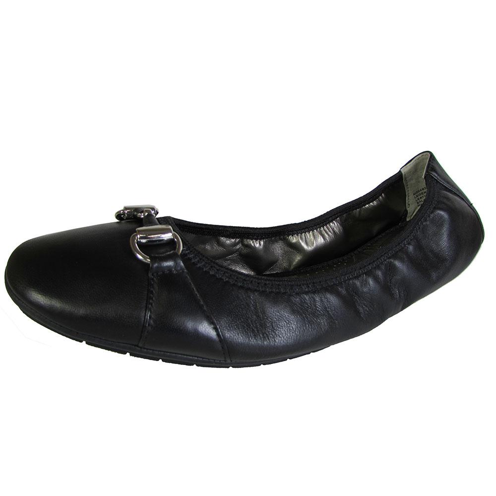 Me Too Womens Legend Leather Ballet Flat Shoe   eBay