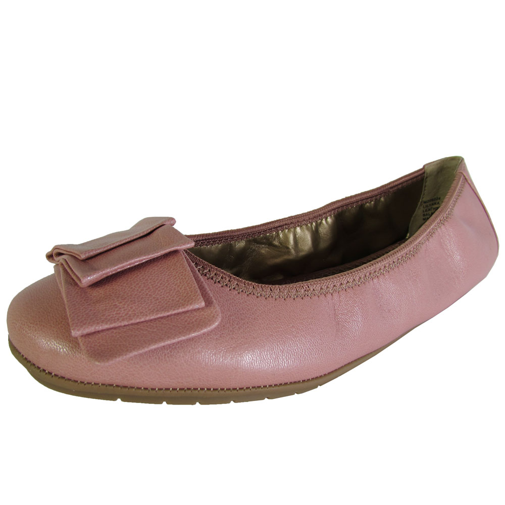 Me Too Womens Lilyana Leather Ballet Flat Shoe | eBay