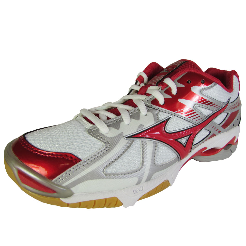 info for b32d9 a61d3 Mizuno Wave Bolt 4 Womens Volleyball Shoe White-red 9.5