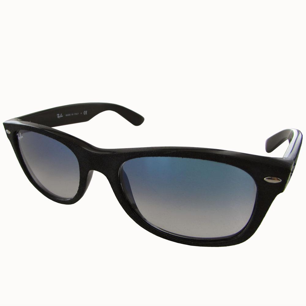 Details about Ray Ban Womens RB2132 New Wayfarer Classic Sunglasses, BlackLight Blue Graident