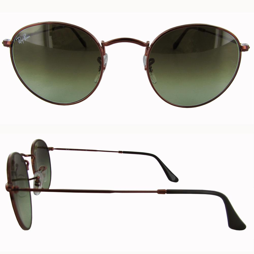 0b9a6feb772a1c Sunglasses Ray-Ban Round Metal Rb3447 9002 a6 47 Medium Bronze   eBay