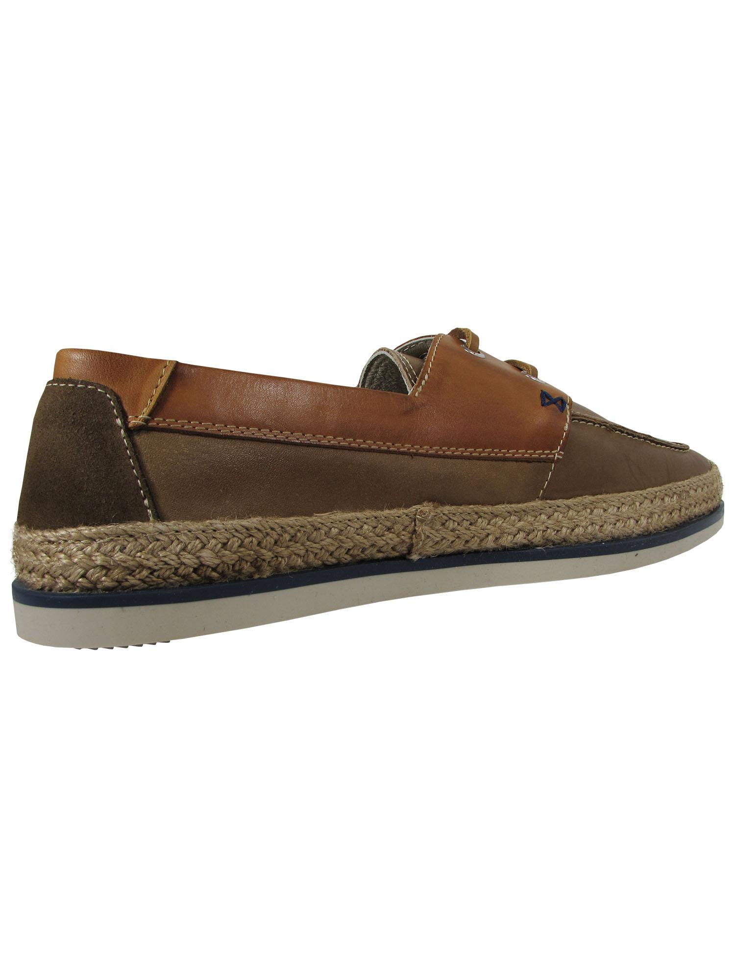 Geox Mens M Monet W 2 Fit 9 Boat Shoe