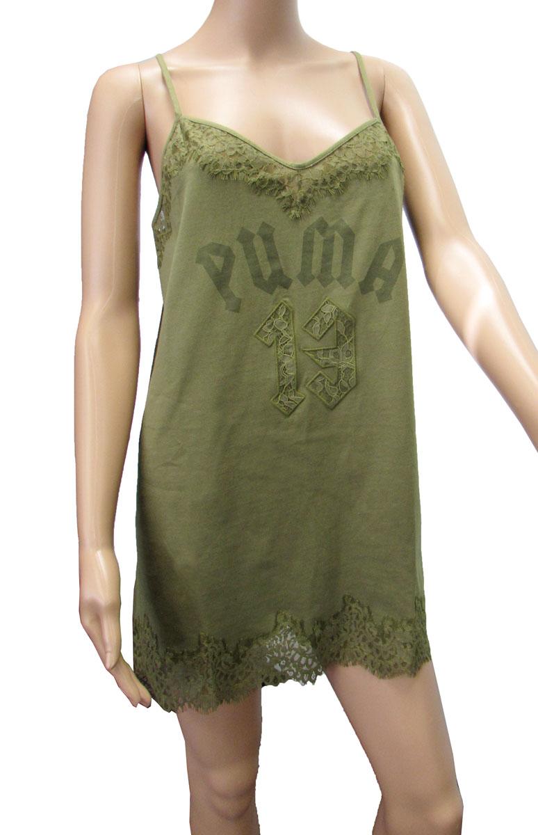 3012561435fa Image is loading Fenty-Puma-By-Rihanna-Womens-Lace-Trim-Sleepwear-
