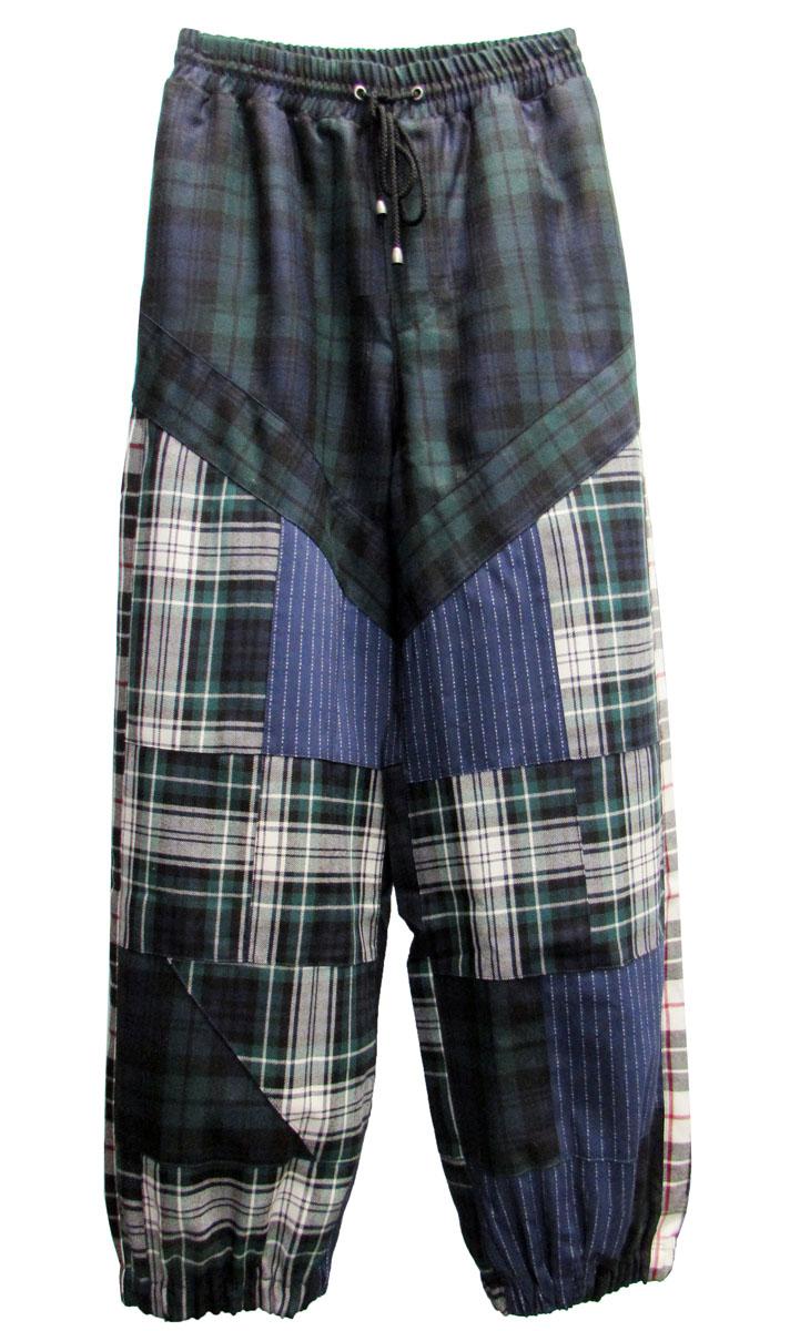 Dettagli su Fenty Puma Donna Plaid Patchwork Pantaloni Tuta,Sera Blu Iarde Plaid,Taglia M