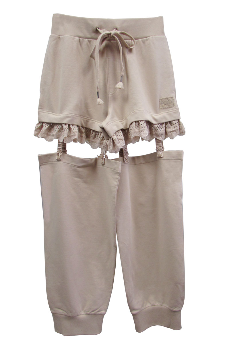 Fenty Puma By Rihanna Womens Suspenders Pants, Moonlight, Size XXS