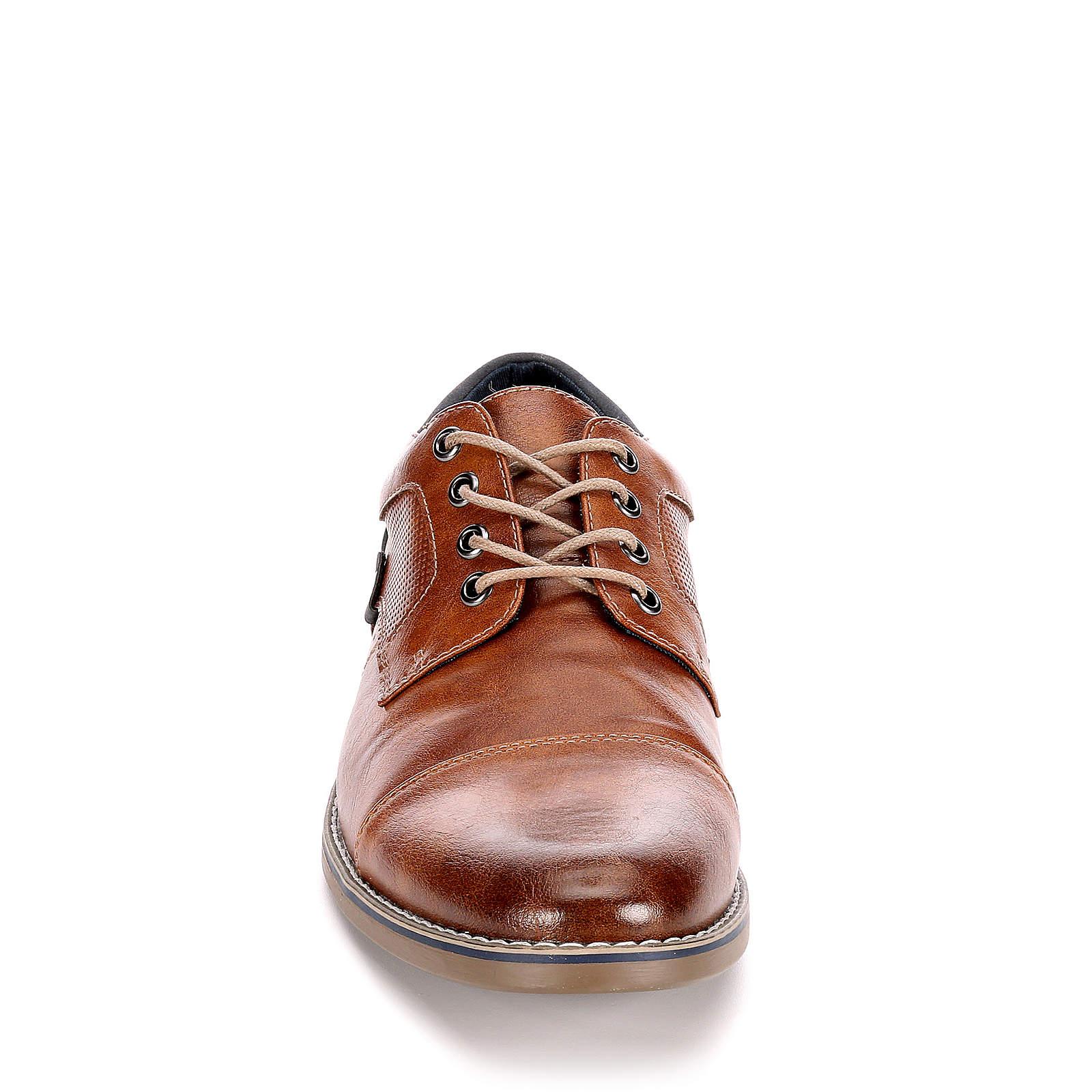 Restoration Mens Justin Lace Up Cap Toe Oxford Shoes
