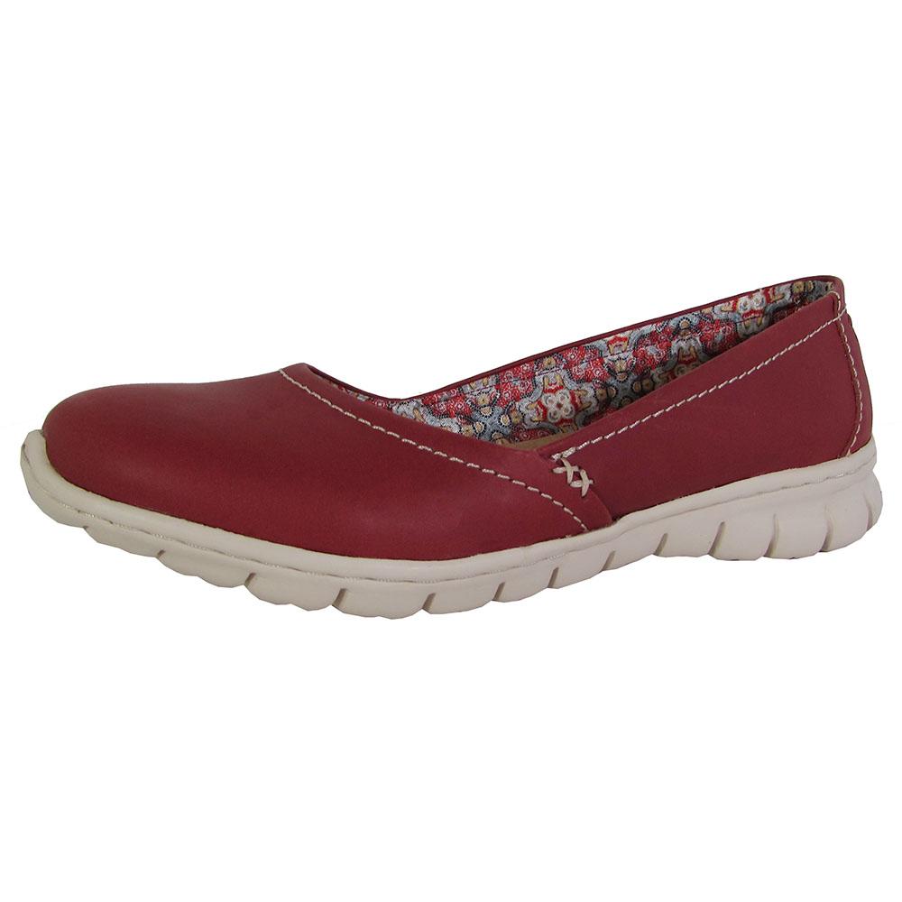 Skechers Womens Posie Slip On Shoes Red US 9