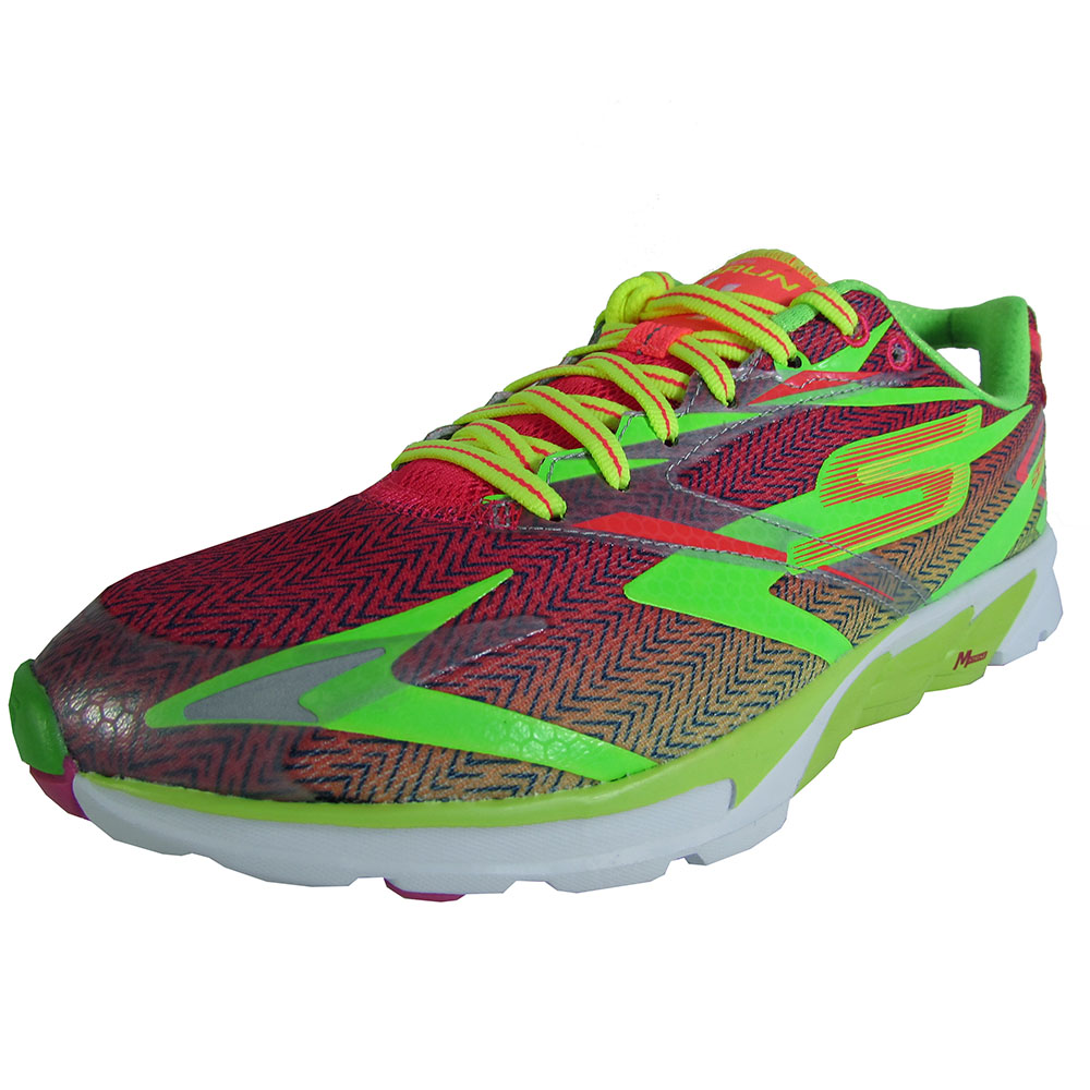 Skechers Womens GOrun 4 13995 Lace Up Athletic Running Shoe