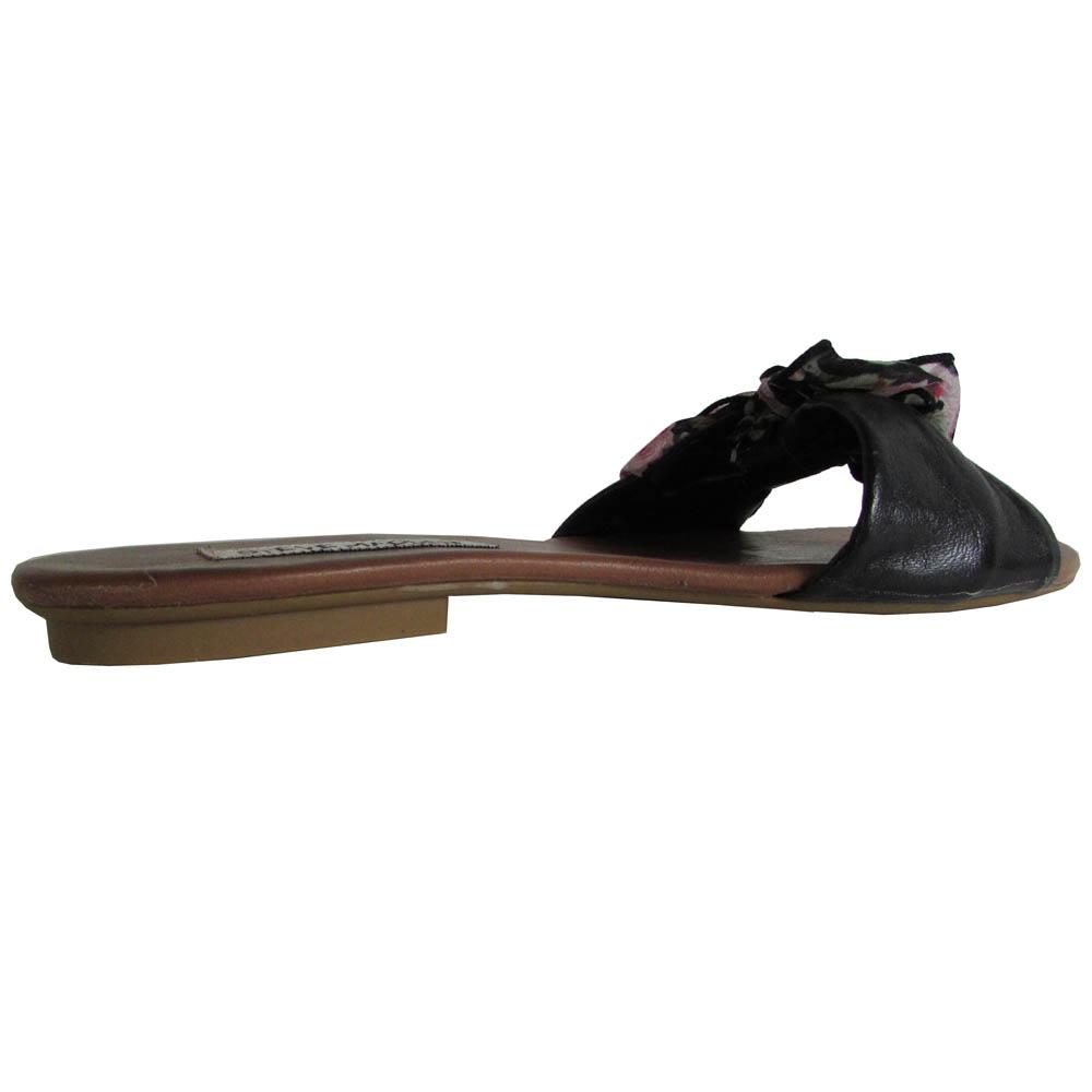 Steve Madden Damenschuhe BowwTie BowwTie BowwTie Leder Slide Sandale 4be57b