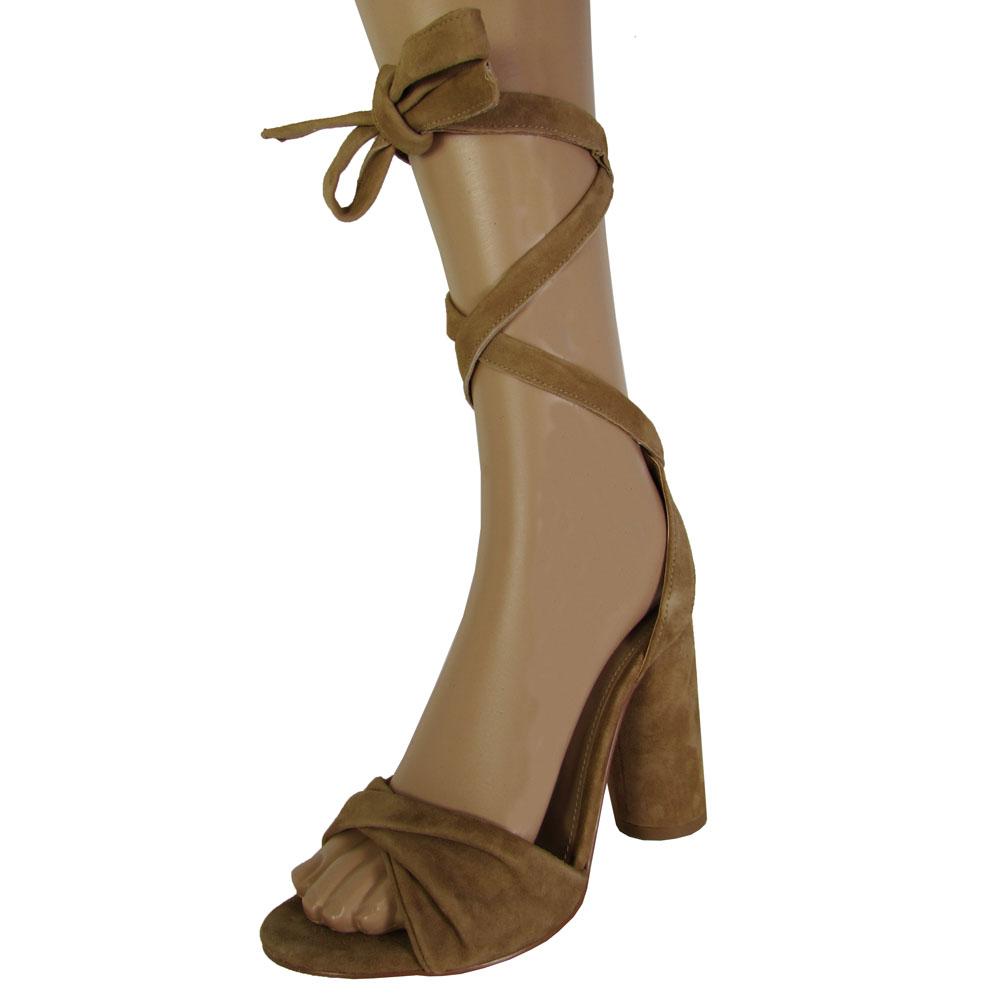 steve madden womens clary high heel tie up sandal shoes ebay
