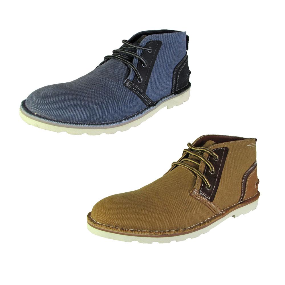 37deb4643c8 Steve Madden Mens Intruder Chukka Boot Shoes 13 Grey Fabric
