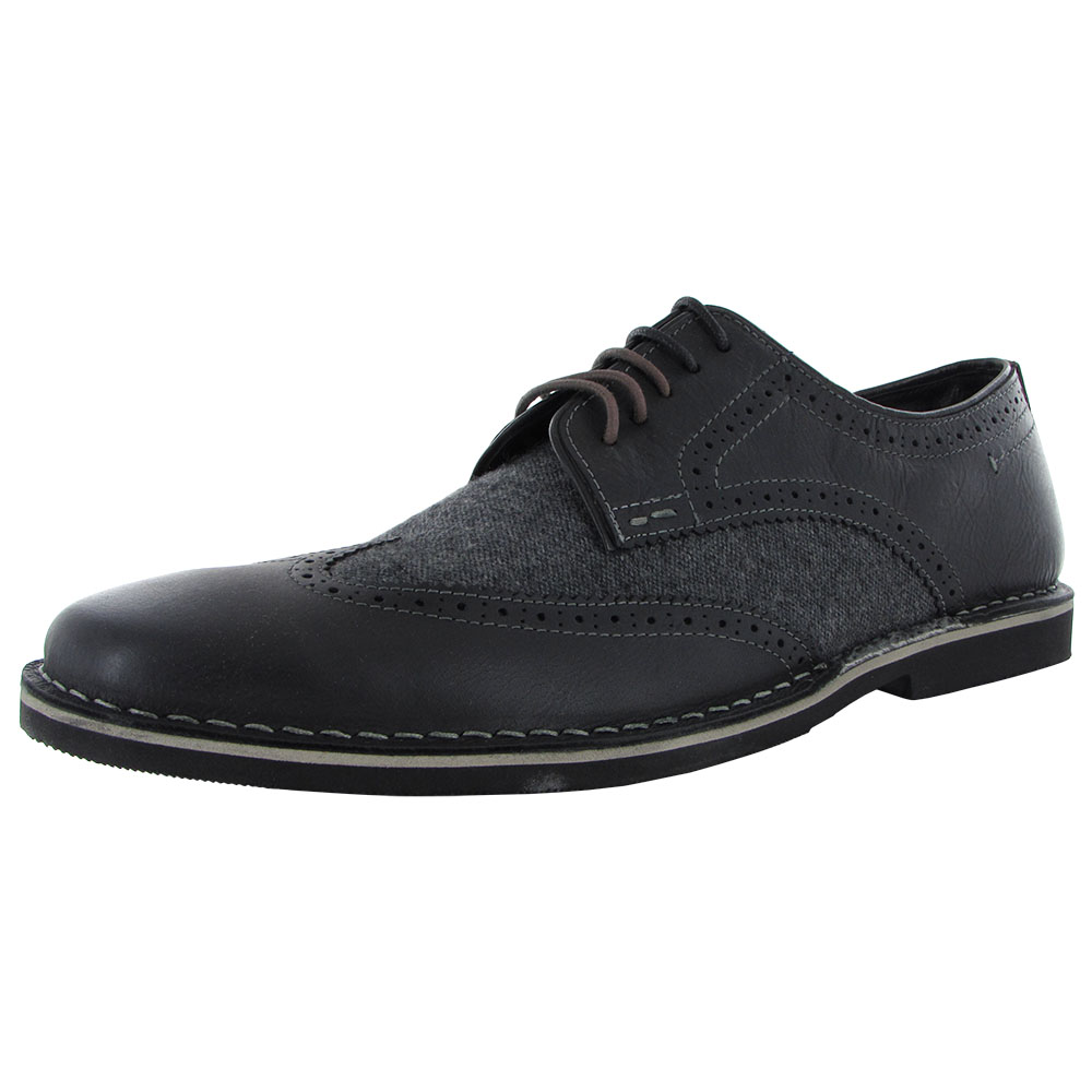 Steve Madden Mens Lookus Casual Lace Up Oxford Shoes
