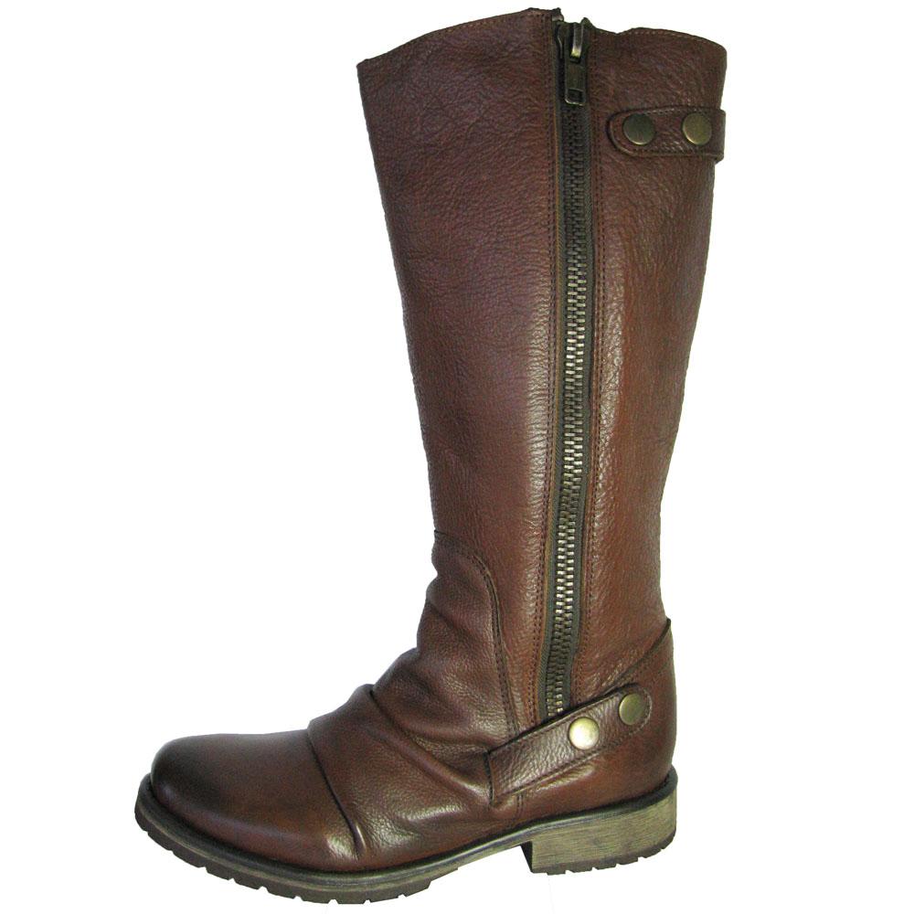 Womens P-Baxter Knee High Zipper Boot