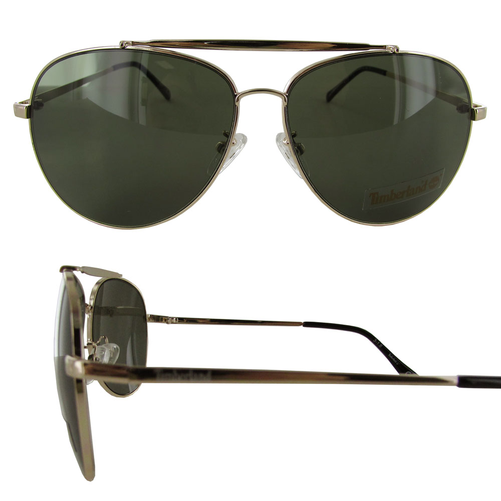 Timberland Mens TB7129 Metal Frame Aviator Sunglasses ...