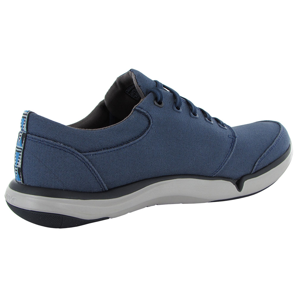 5733648f0 Teva Mens Wander Lace up Sneaker Shoes 7.5 Navy for sale online