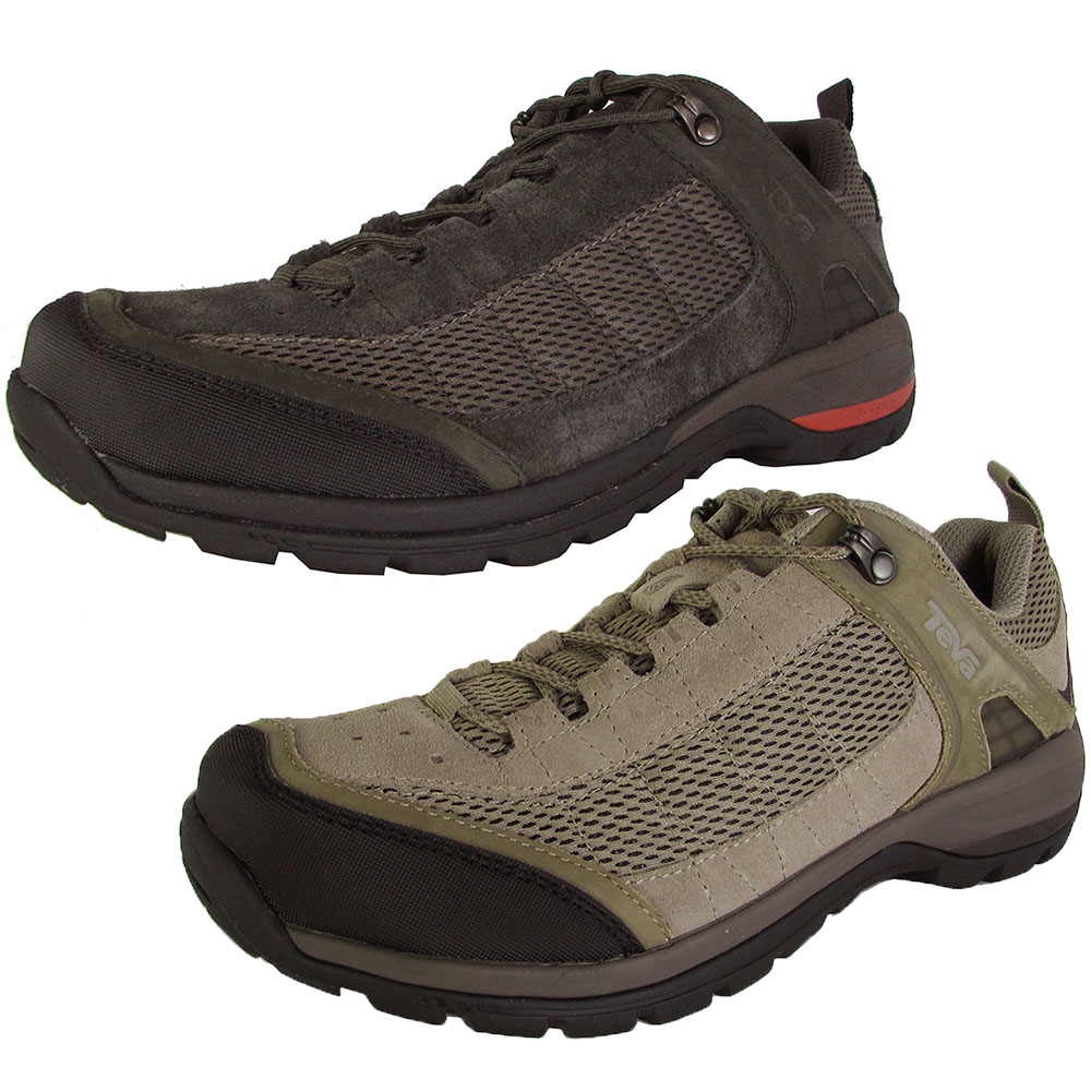 teva mens kimtah mesh low cut hiking shoes