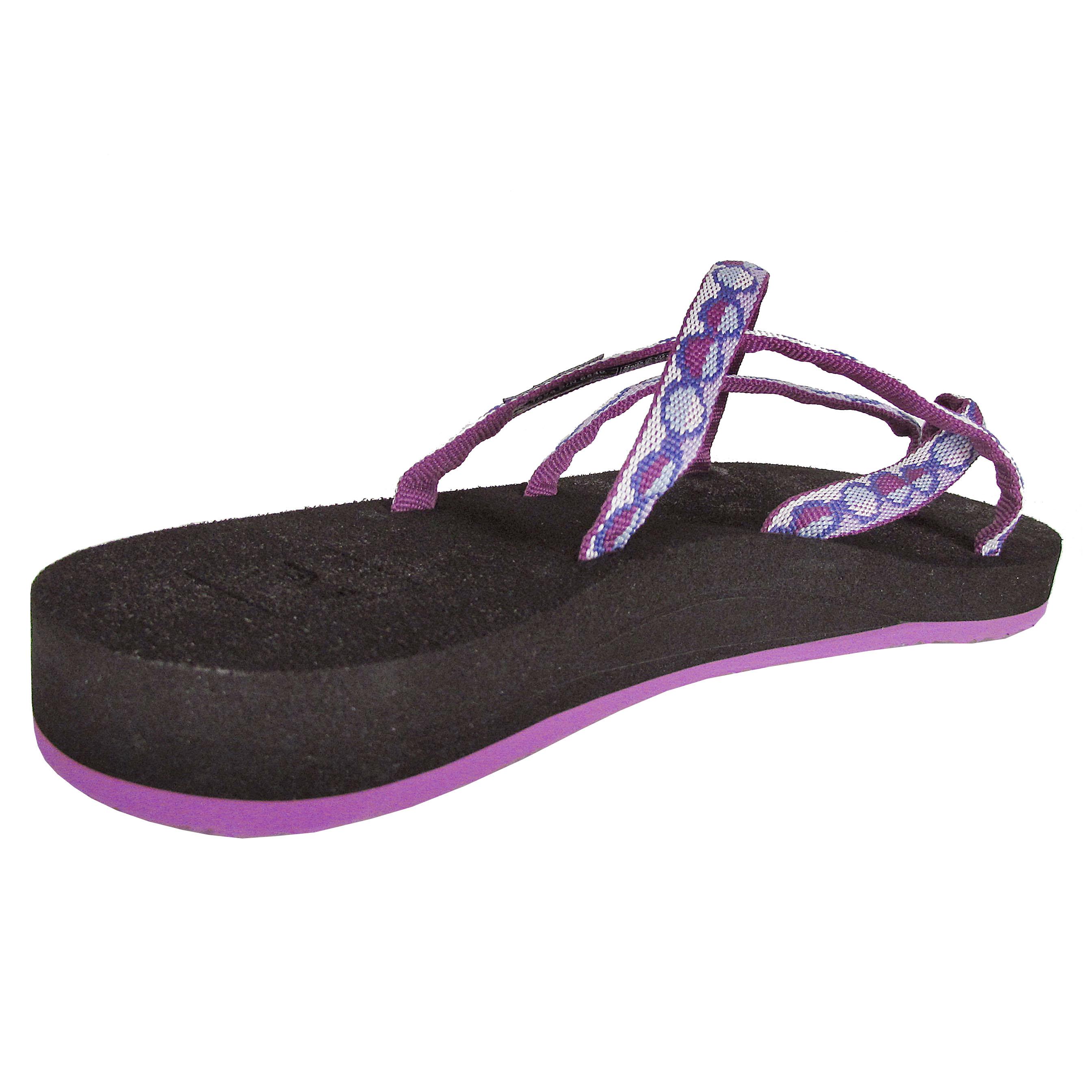 cb15389fa Teva Womens Olowahu Thong Flip Flop Sandal Shoes