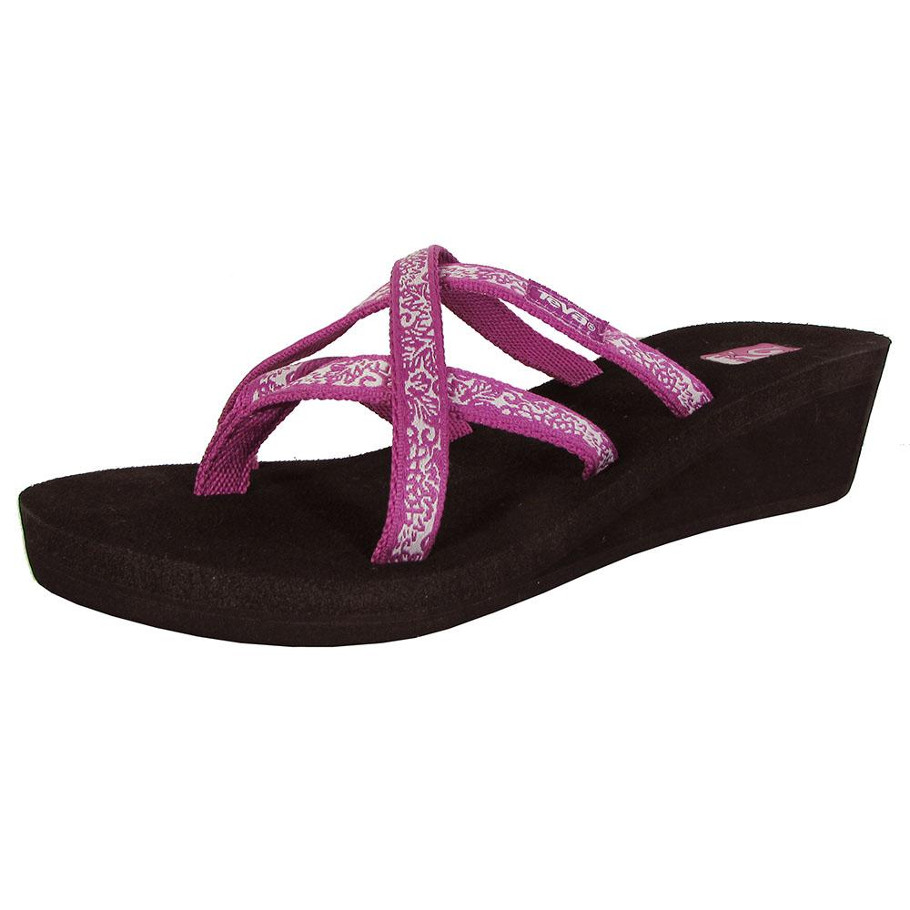 Teva Womens Mush Mandalyn Wedge Ola 2 Sandal Shoes Ebay