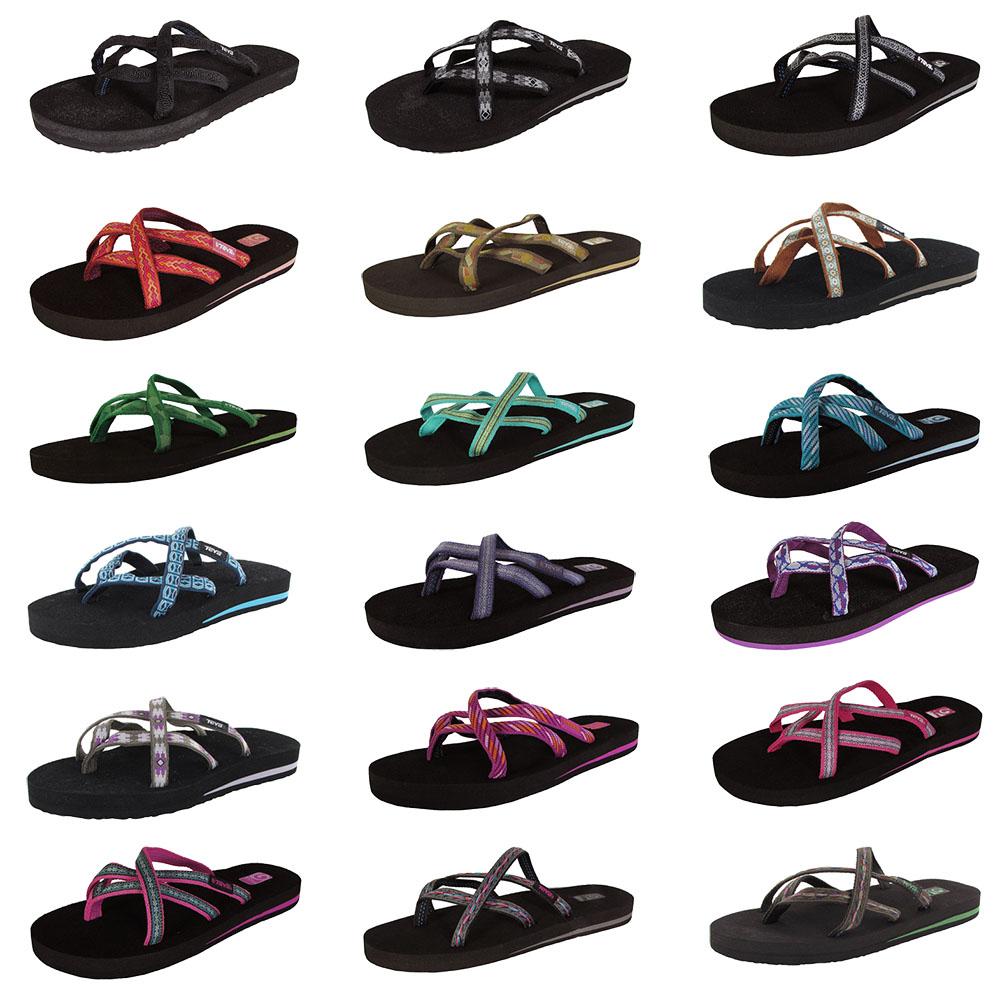 Teva Womens Olowahu Thong Flip Flop Sandal Shoes-4340