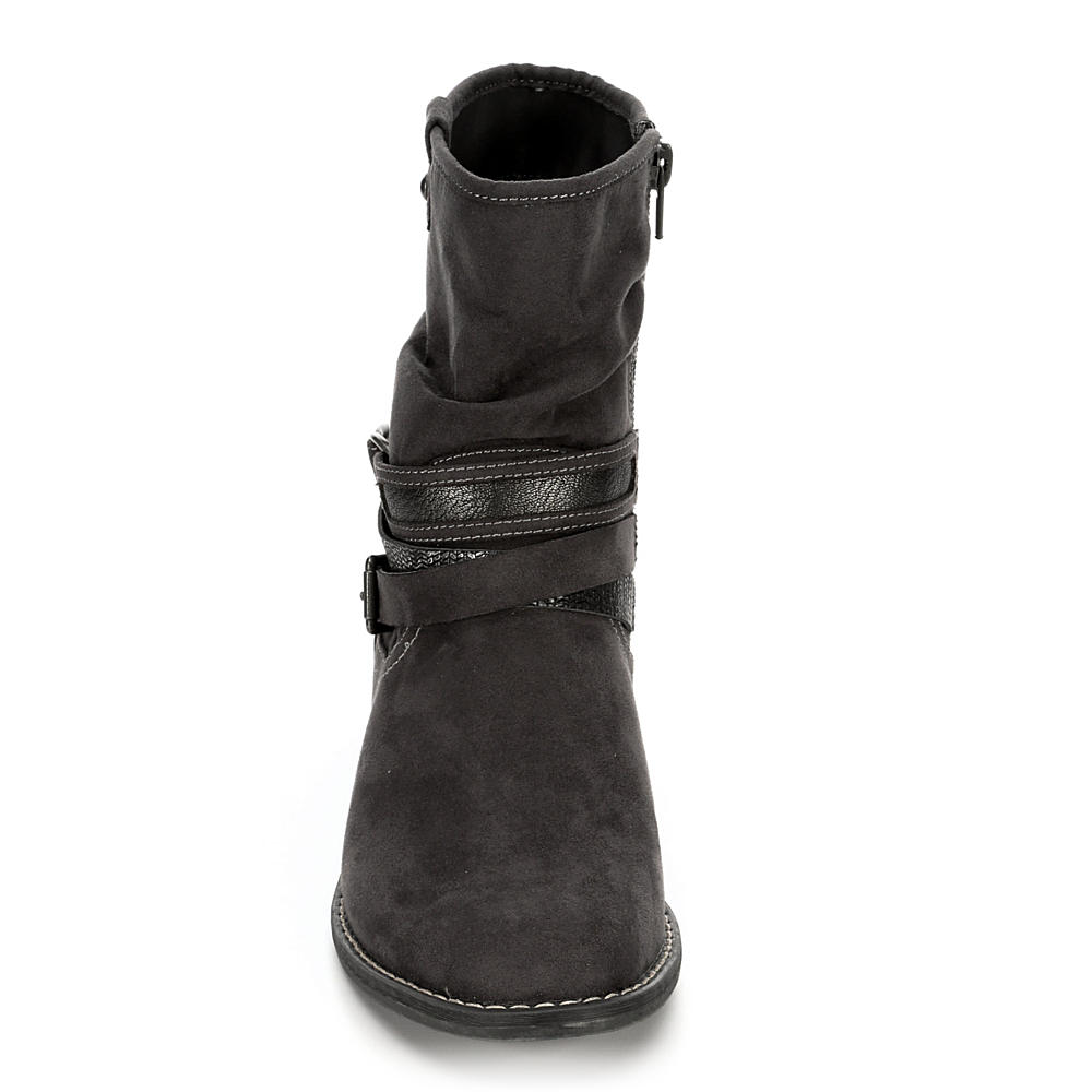 XAPPEAL-Womens-Shin-High-Low-Heel-Slouch-Boot-Shoes thumbnail 7