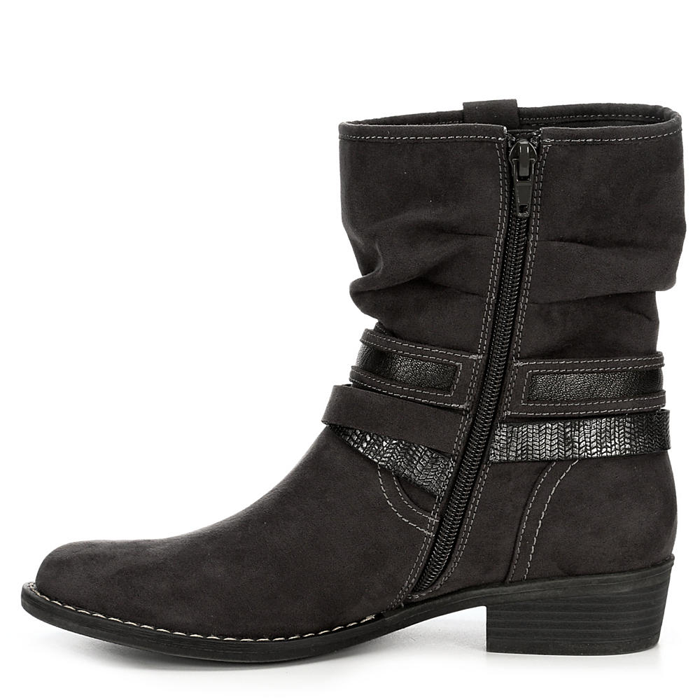 XAPPEAL-Womens-Shin-High-Low-Heel-Slouch-Boot-Shoes thumbnail 8