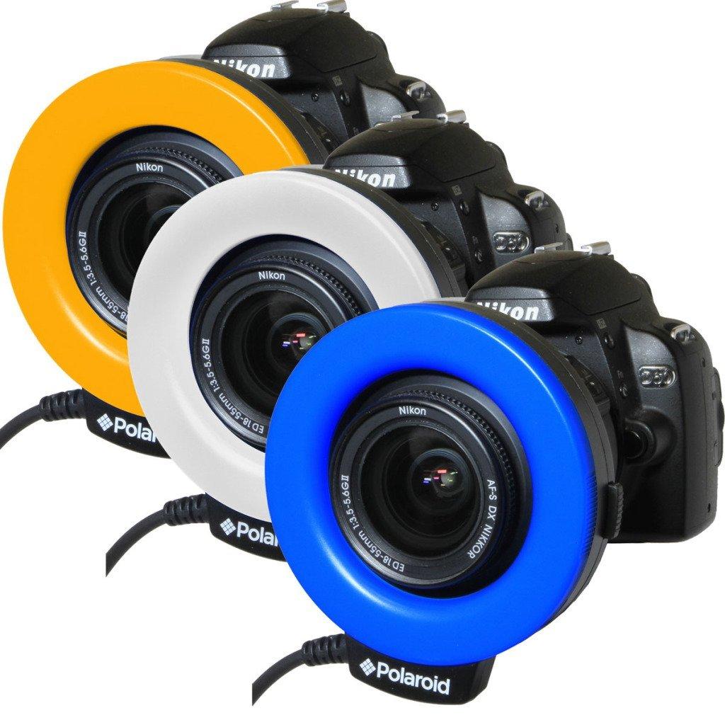 Polaroid Macro Led Ring Flash For Canon T4i 650d T3i 600d
