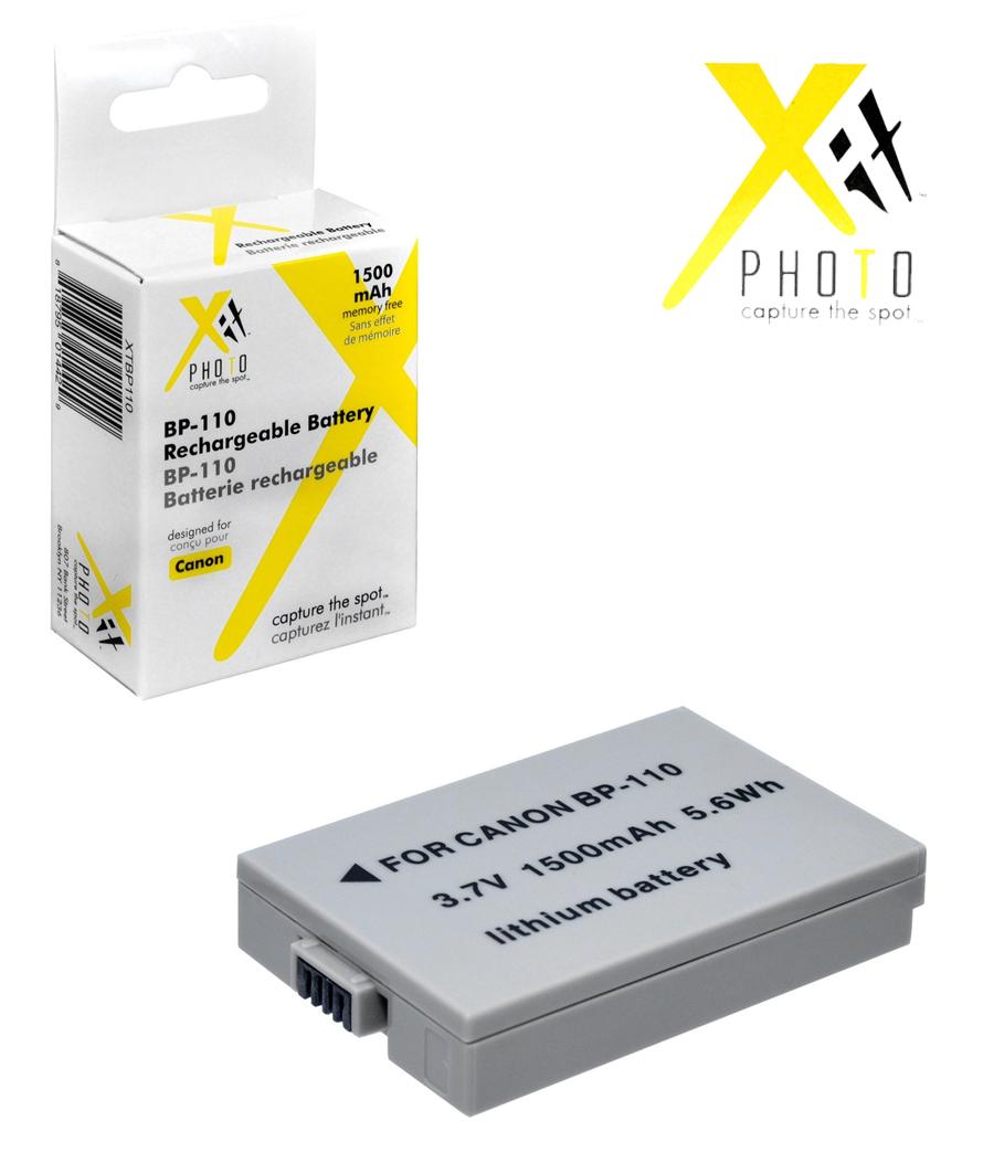 Li-Ion Bater/ía para Canon FS11