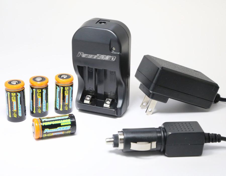 4 pcs rechargeable cr123a 3 7v batteries li ion cr123 smart charger 110 220v ebay. Black Bedroom Furniture Sets. Home Design Ideas