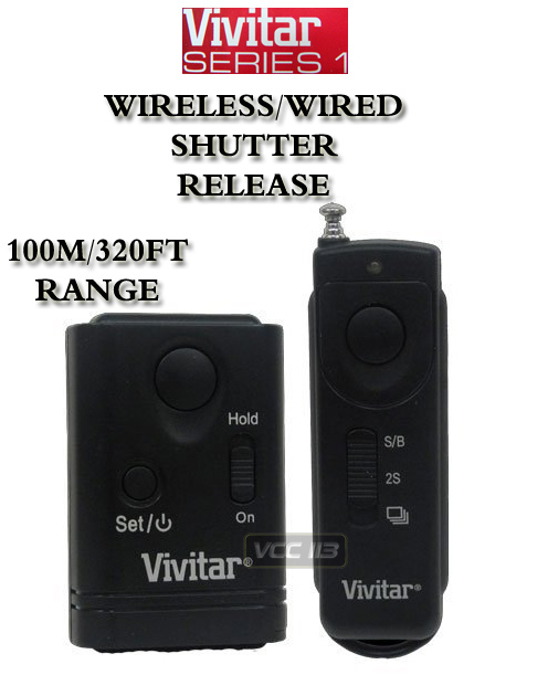Wireless Remote Shutter Release Sony Dslr A900 A350 A300