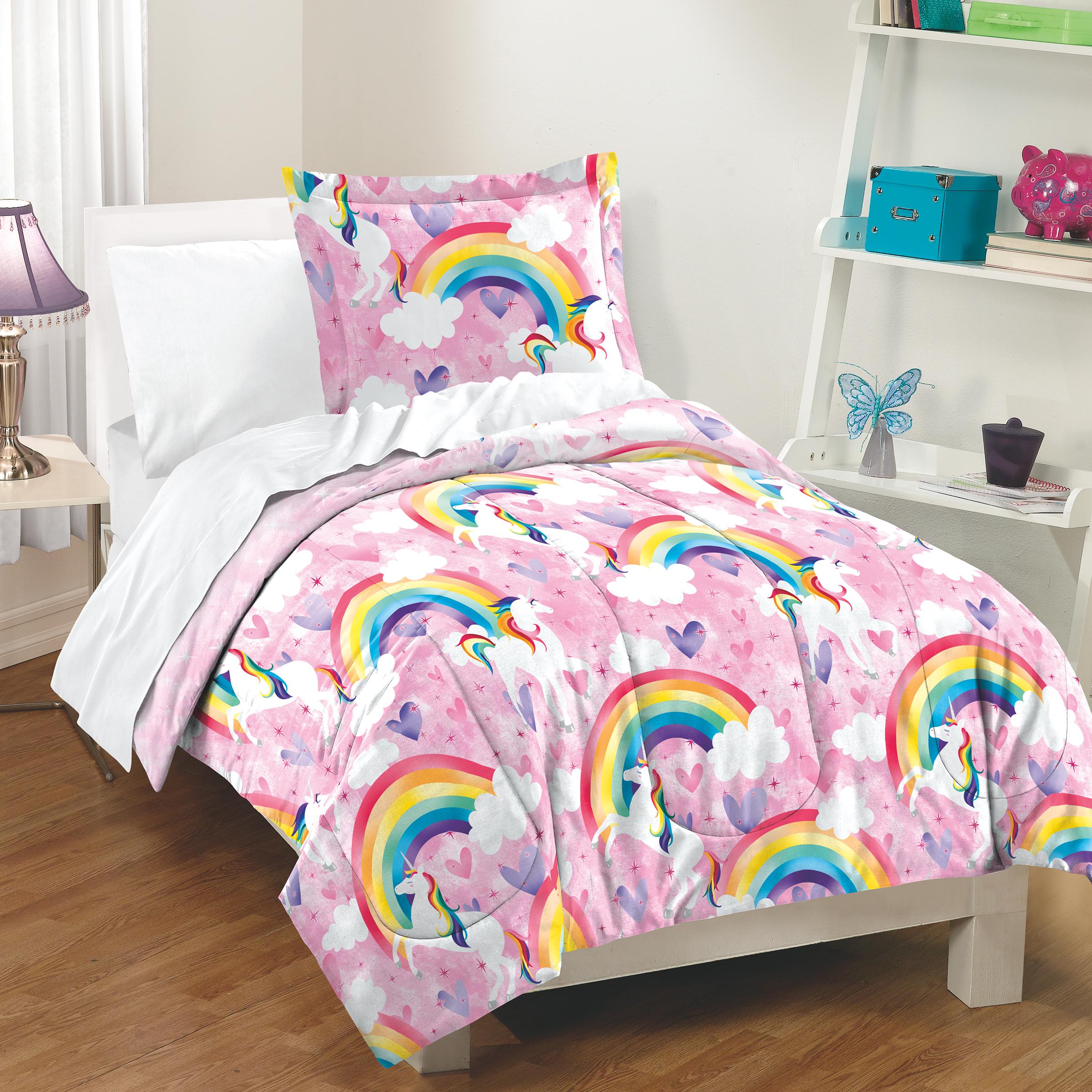 Unicorn Cloud Bedding Twin