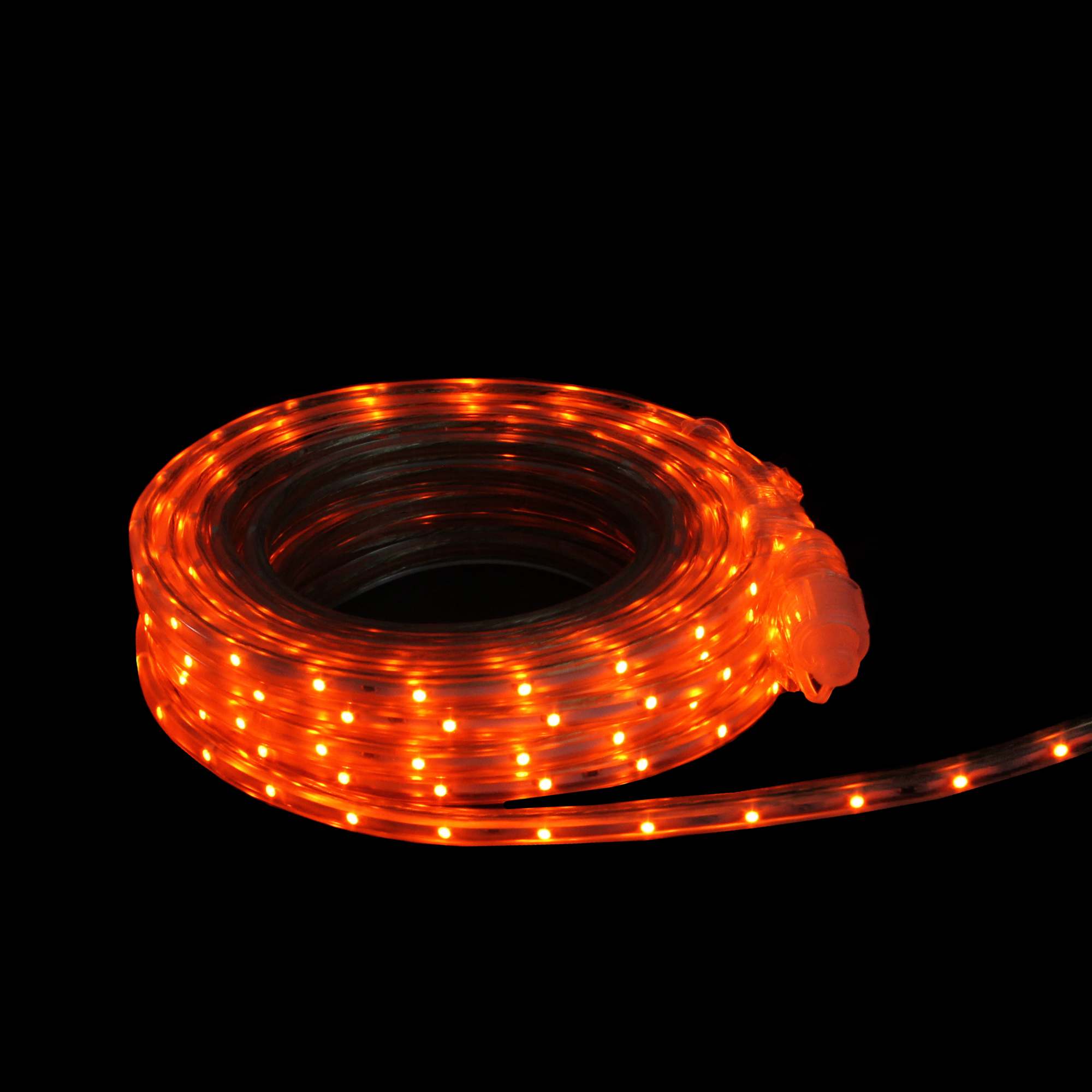 Details About Cc Christmas Decor 30 Orange Led Indoor Outdoor Christmas Linear Tape Lighting
