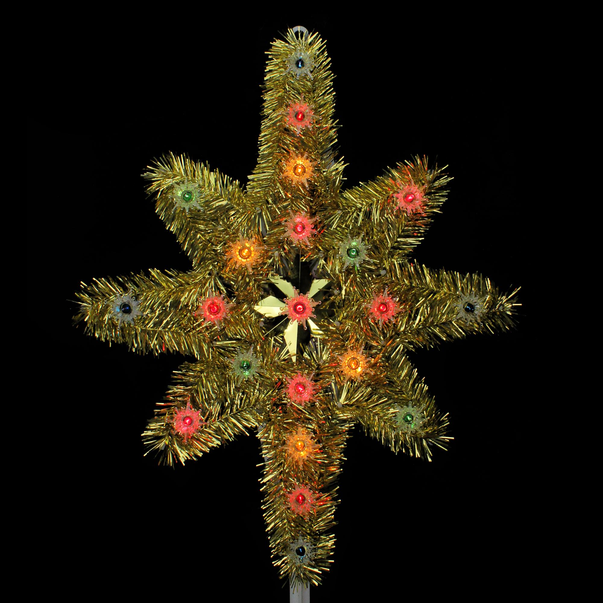 "Northlight 21"" Gold Star of Bethlehem Christmas Tree ..."