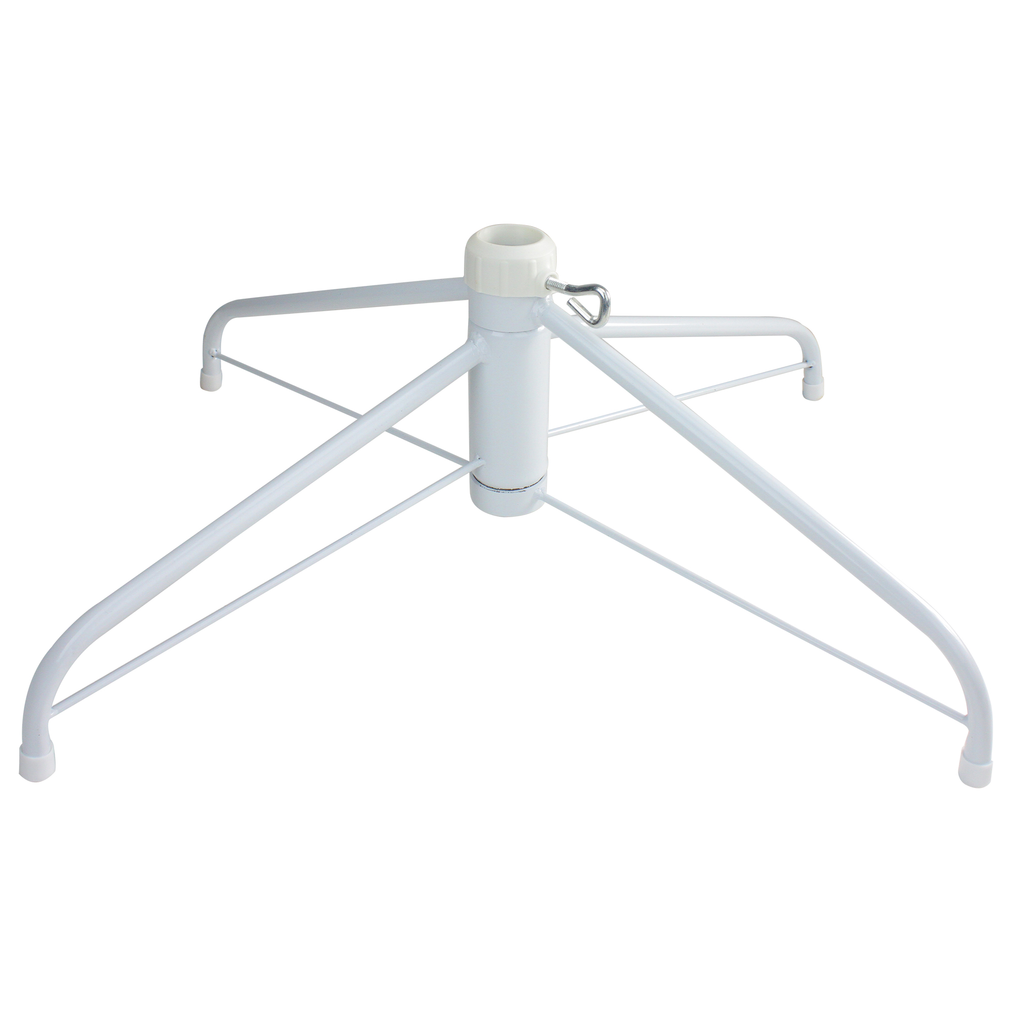 Artificial Christmas Tree Stand.Details About Northlight White Metal Christmas Tree Stand For 6 5 7 5 Artificial Trees