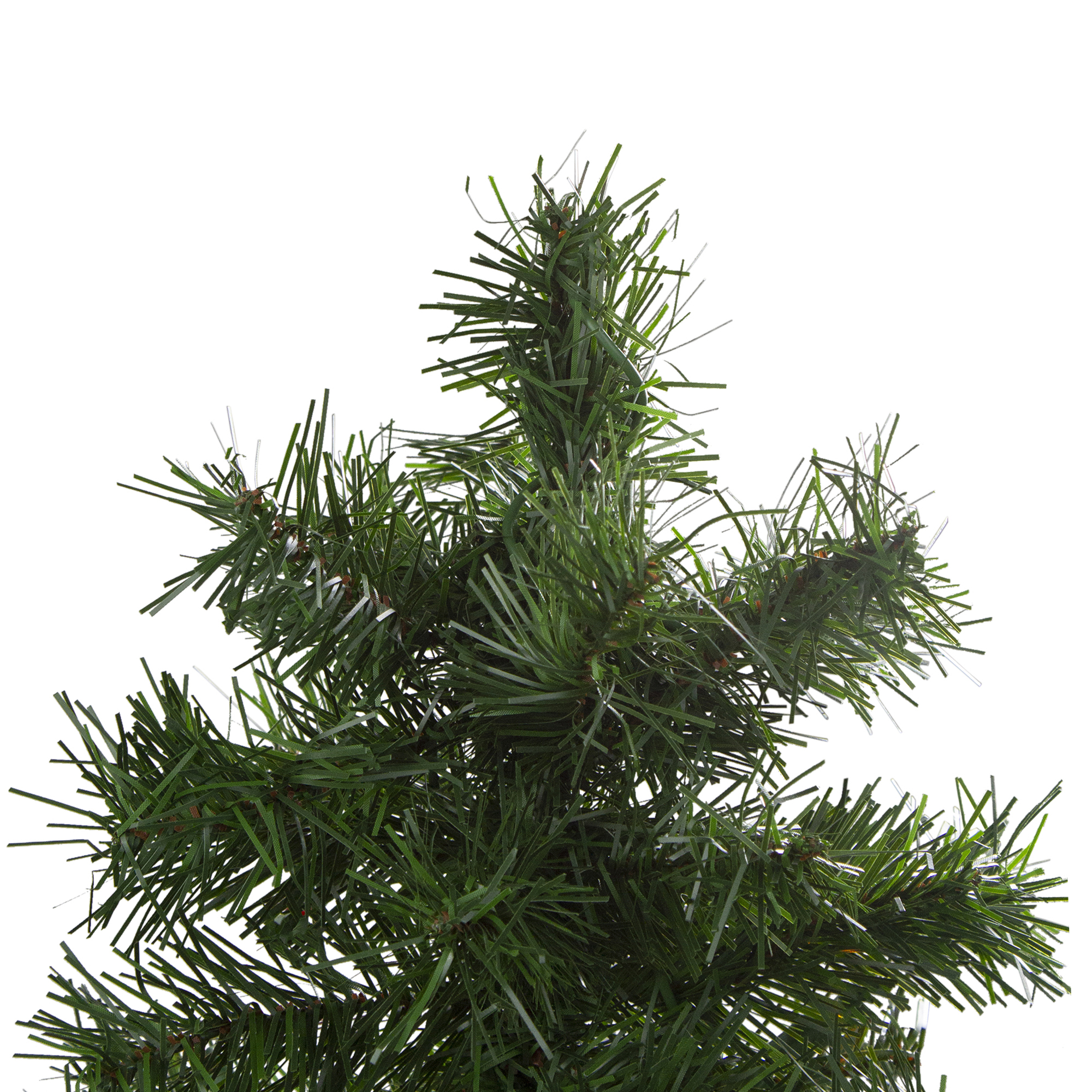 Set of 3 Slim Woodland Alpine Artificial Christmas Trees 5 ...