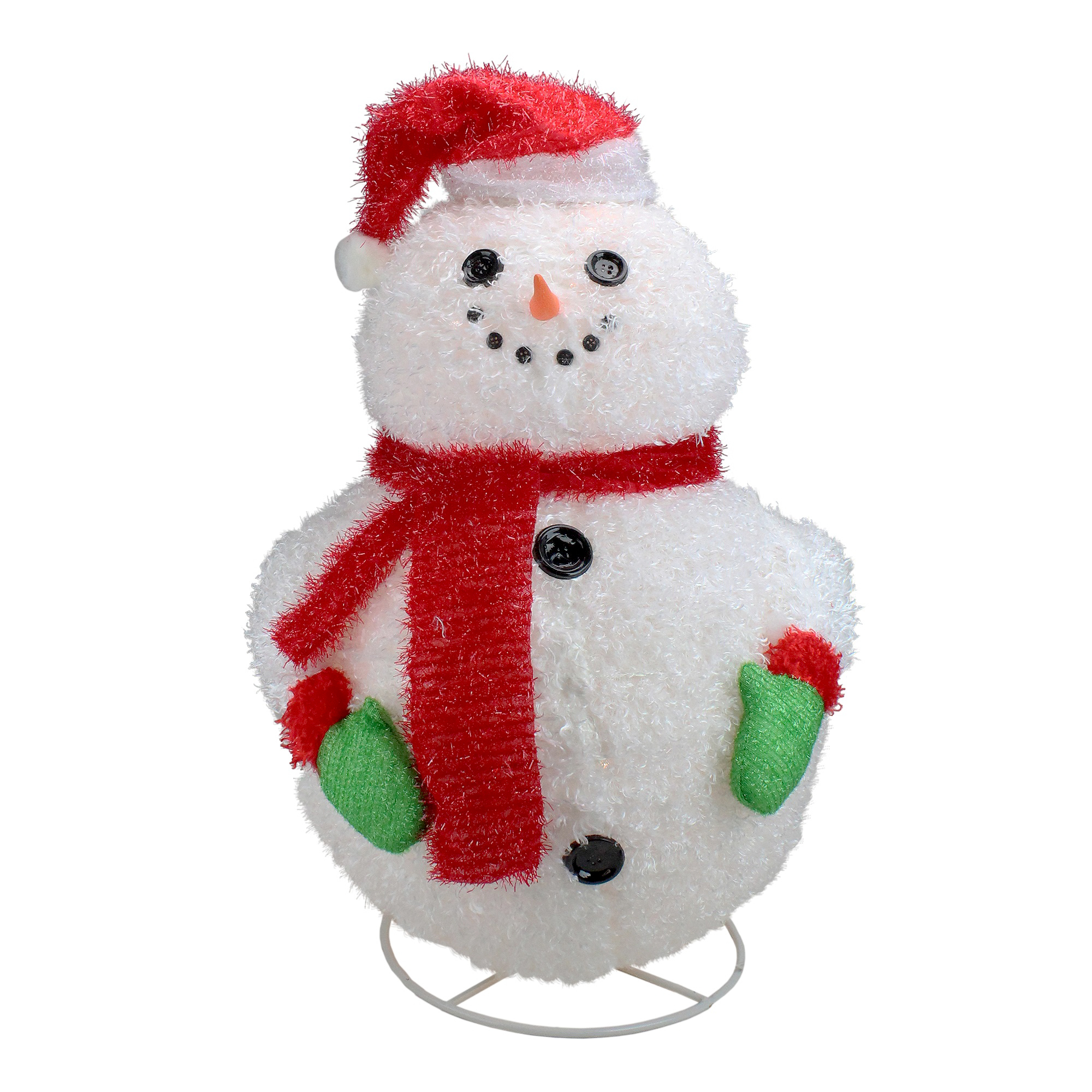 """Outdoor Christmas Decorations Images: PENN 24"""" Lighted 3-D Jolly Winter Snowman Outdoor"""