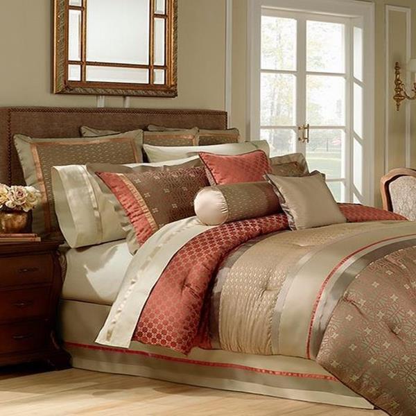 Waterford Bogden King Comforter Bogden Multi Rust Olive