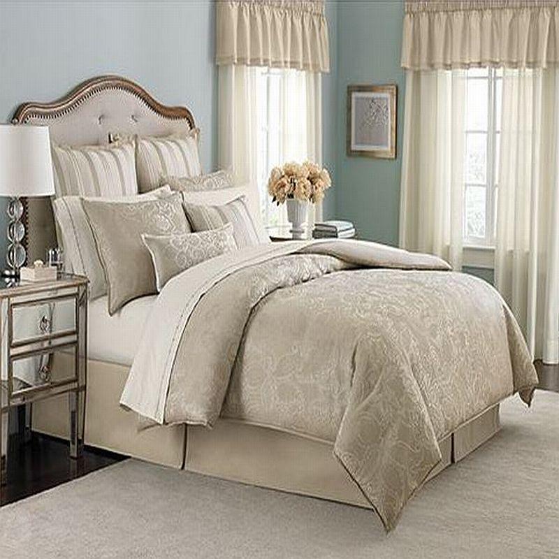 Martha Stewart Bedroom: Martha Stewart Gated Garden Queen 12 Piece Comforter Bed