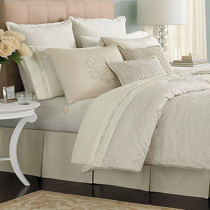 Martha Stewart Marble Mist King 24 Piece Comforter Bed In