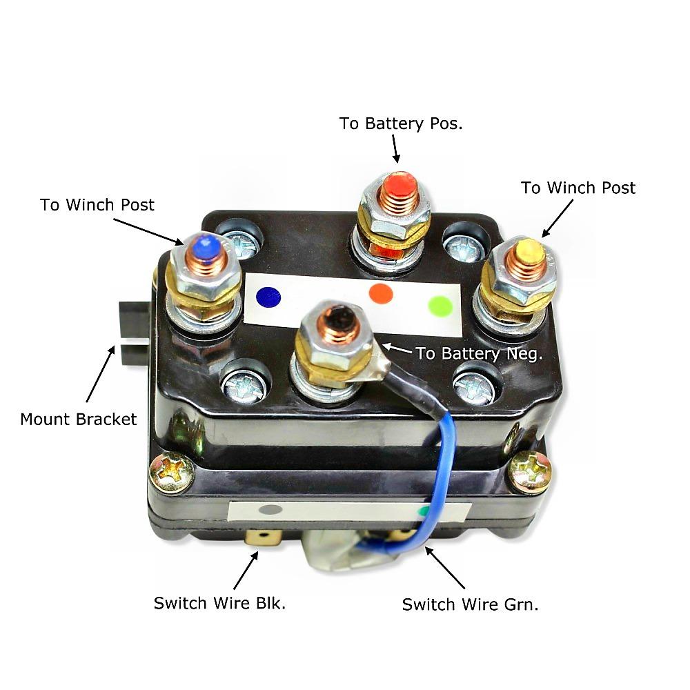 Venom Atv Winch Contactor Free Download Wiring Diagram Replacement 12v Utv Solenoid 1500 5000lb At