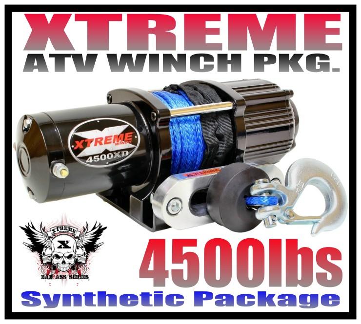 2500LB XTREME ATV WINCH KIT HONDA 2003-19 RINCON 2500 LB RT