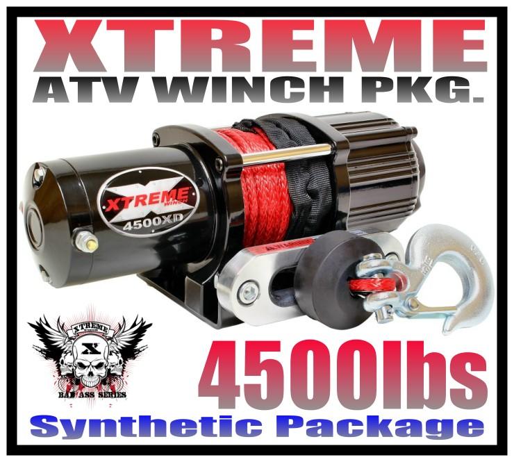 Warn ATV Vantage 2000 Winch wMount CanAm 570 Outlander 16-18 MAX