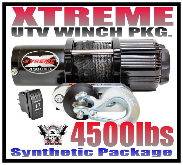 4500LB XTREME UTV WINCH POLARIS 2013-19 RANGER FULL-SIZE 900 /& 1000 XP /& CREW HD