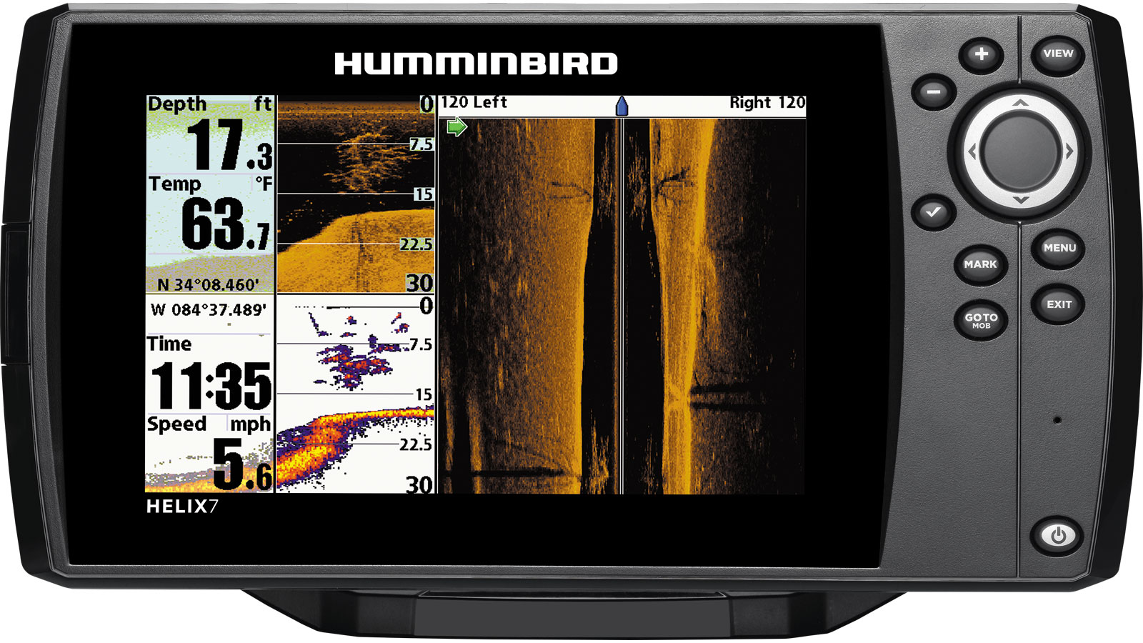 картплоттер humminbird 788cxi hd combo
