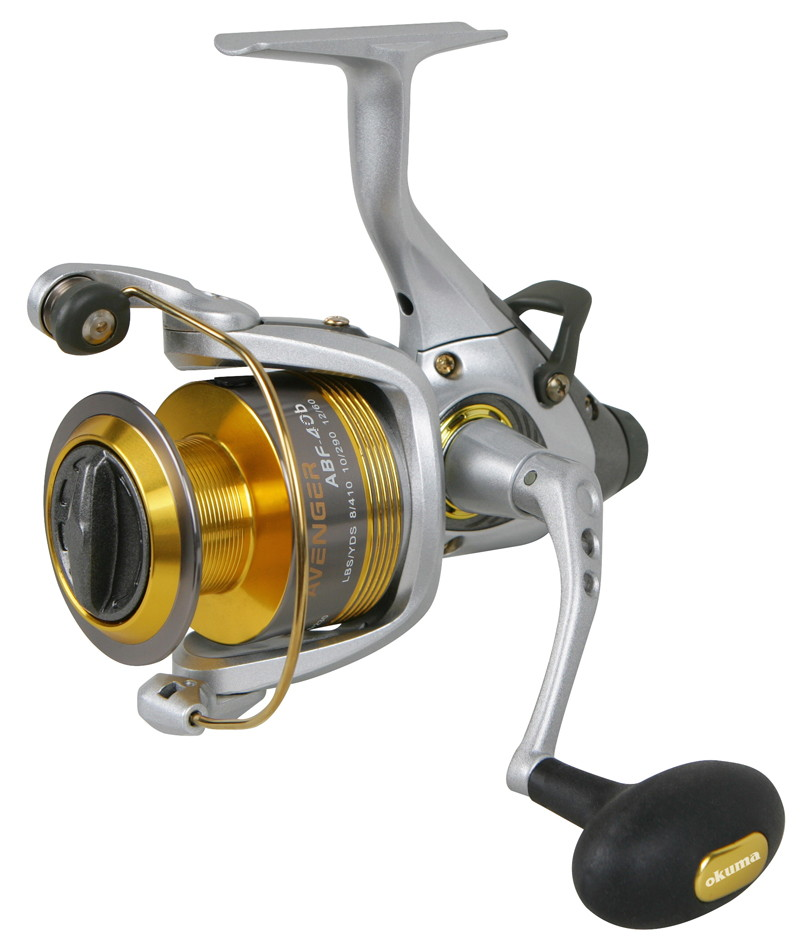 Okuma abf 80b avenger bait feeder 6bb 1rb 4 5 1 ratio 350 for Okuma fishing usa